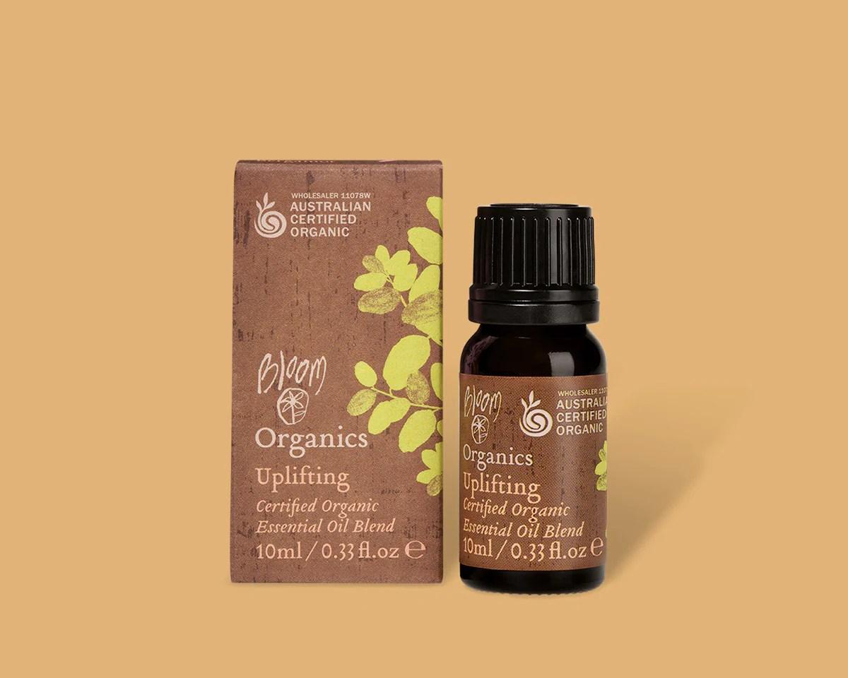 Organic Essential Oil Blend Uplifting — bloomcosmetics.com