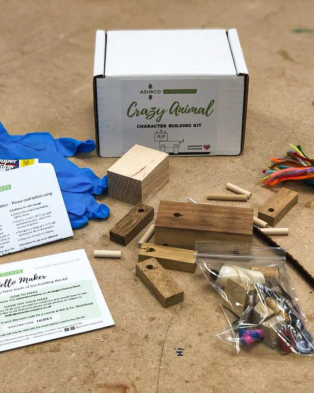 Character Building Make At Home Kits Ash Amp Co Workshops