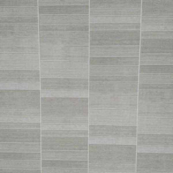 light grey small tile effect bathroom wall panels pvc 5mm thick cladding 2 6m x 250mm