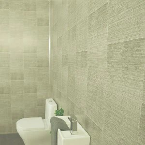 light grey large tile 5mm tongue and groove panels