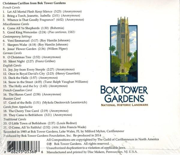 Christmas Carillon From Bok Tower Gardens Shop At Bok