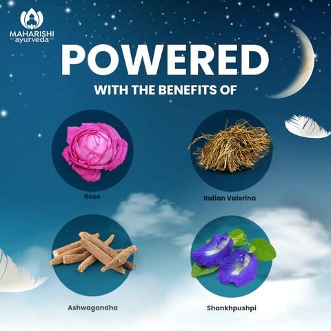 Ayurvedic remedy for sleep disorders.