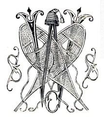 Winter Themed Invitation Crest.