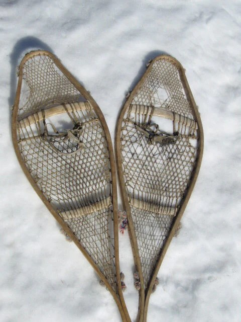 Antique Snowshoes  First Nation  VintageWinter