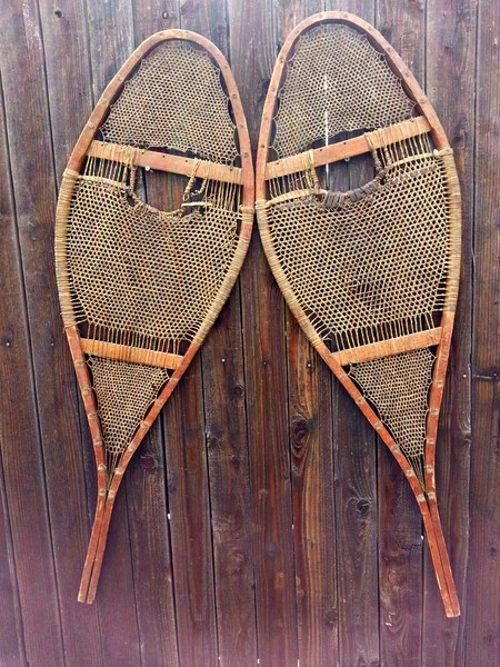 Antique Native American Snowshoes  VintageWinter