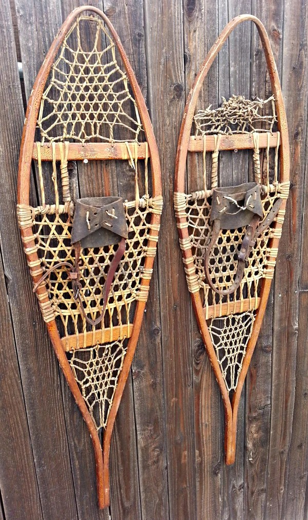 Antique Tubbs Co Snowshoes  VintageWinter