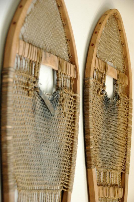Antique Native American Indian Snowshoes  50  VintageWinter