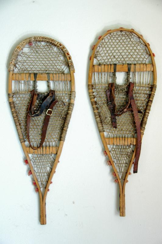 Antique Native American Indian Children Snowshoes