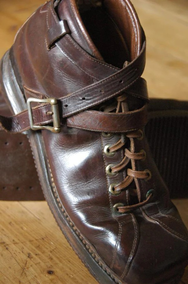 Vintage LLBean Leather Ski Boots  VintageWinter