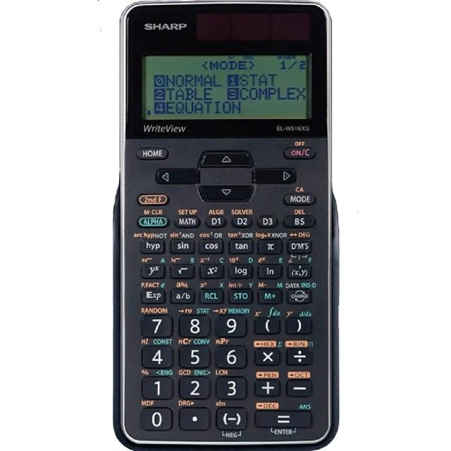 Sharp EL-W27XGB-SL Advanced WriteView 27-Line Scientific