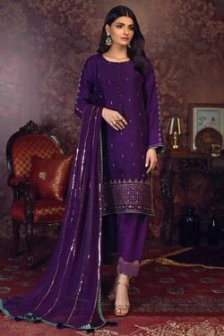 Silk Dress Designs : dress, designs, Embroidered, Dresses, Summer, Clothing, Collection, Zaaviay