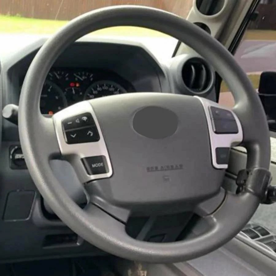 toyota 70 200 76 79 series steering wheel controls kit [ 900 x 900 Pixel ]