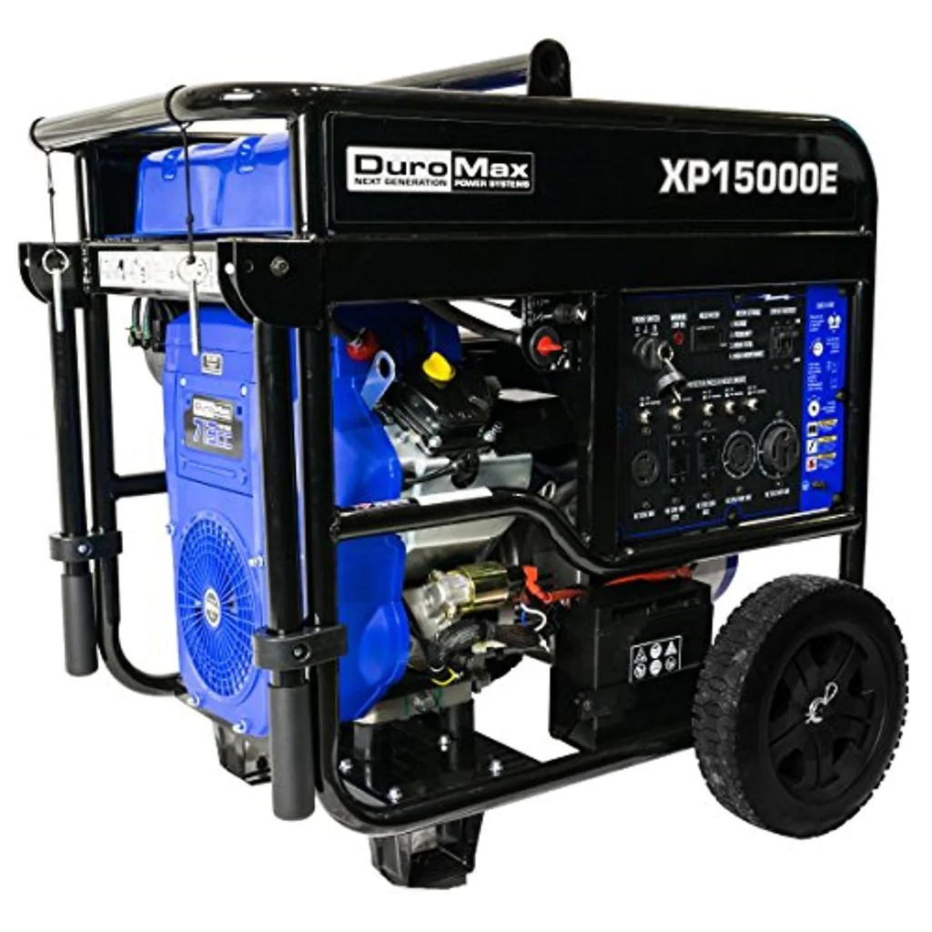 hight resolution of  duromax xp15000e 15 000w portable generator