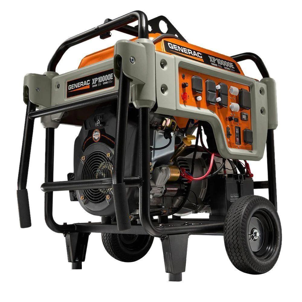 generac 5932 xp10000e gasoline powered portable generator  [ 1000 x 1000 Pixel ]