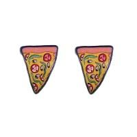 Pizza Stud Earrings  Cats Like Us