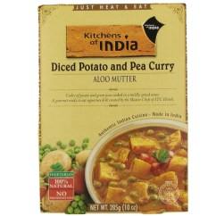 Kitchen Of India Decorating A Large Wall Aloo Mutter Diced Pot Pea Curry 6x10 Oz