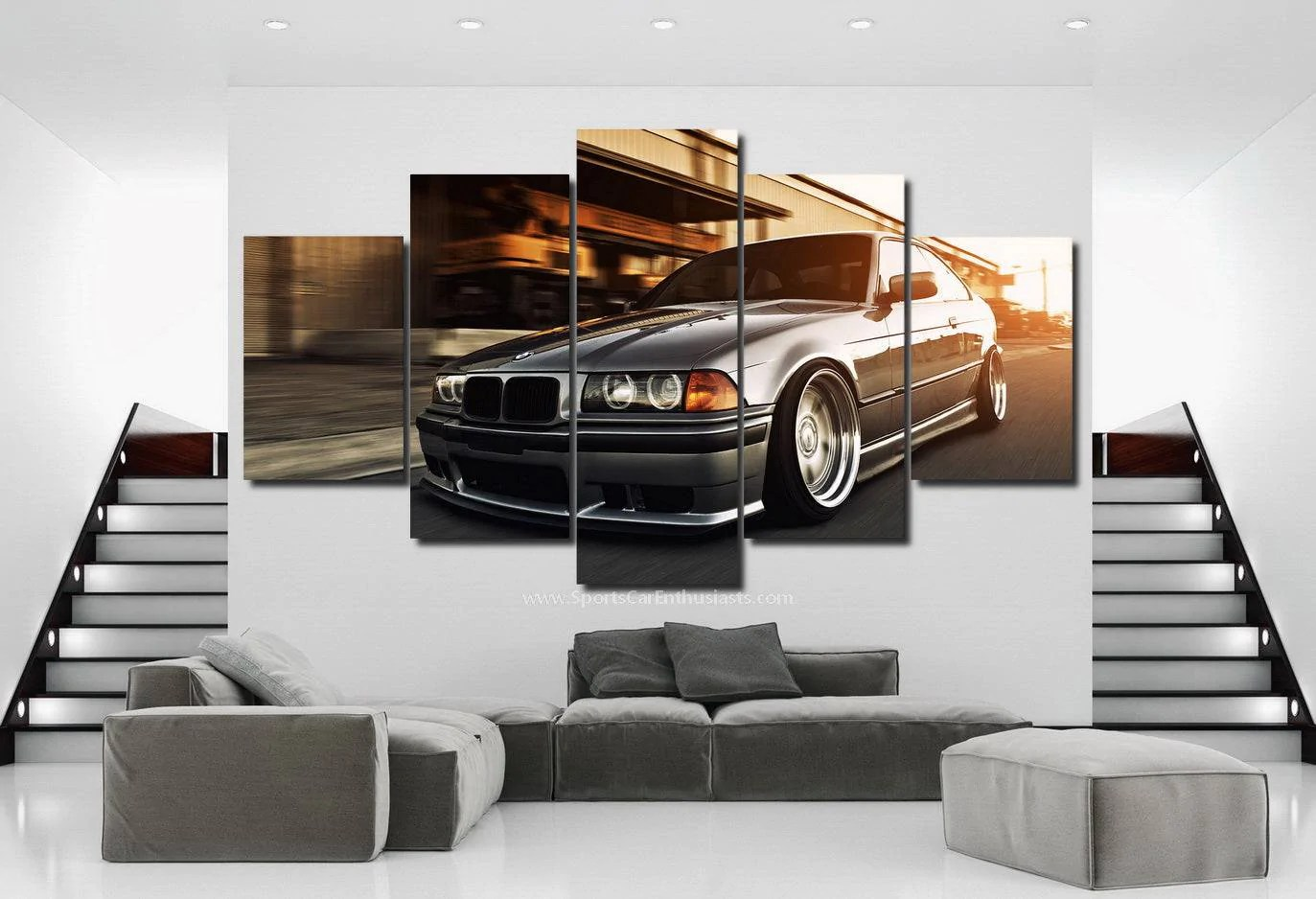 load image into gallery viewer bmw e36 canvas 3 5pcs free amp fast  [ 1373 x 938 Pixel ]