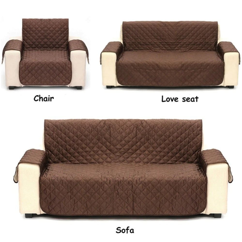 sofa waterproof cover recliners microfiber protective furniture dog pupoutlet