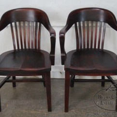 Sikes Chair Company Dining Room Table Cushions Antique Pair Of Bank England Arm Chairs By The