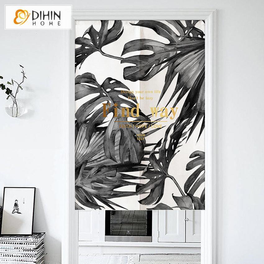 dihin home find way printed japanese noren doorway curtain tapestry cotton linen door way curtain door hanging tapestry 33 5 wx59 l 1 panel