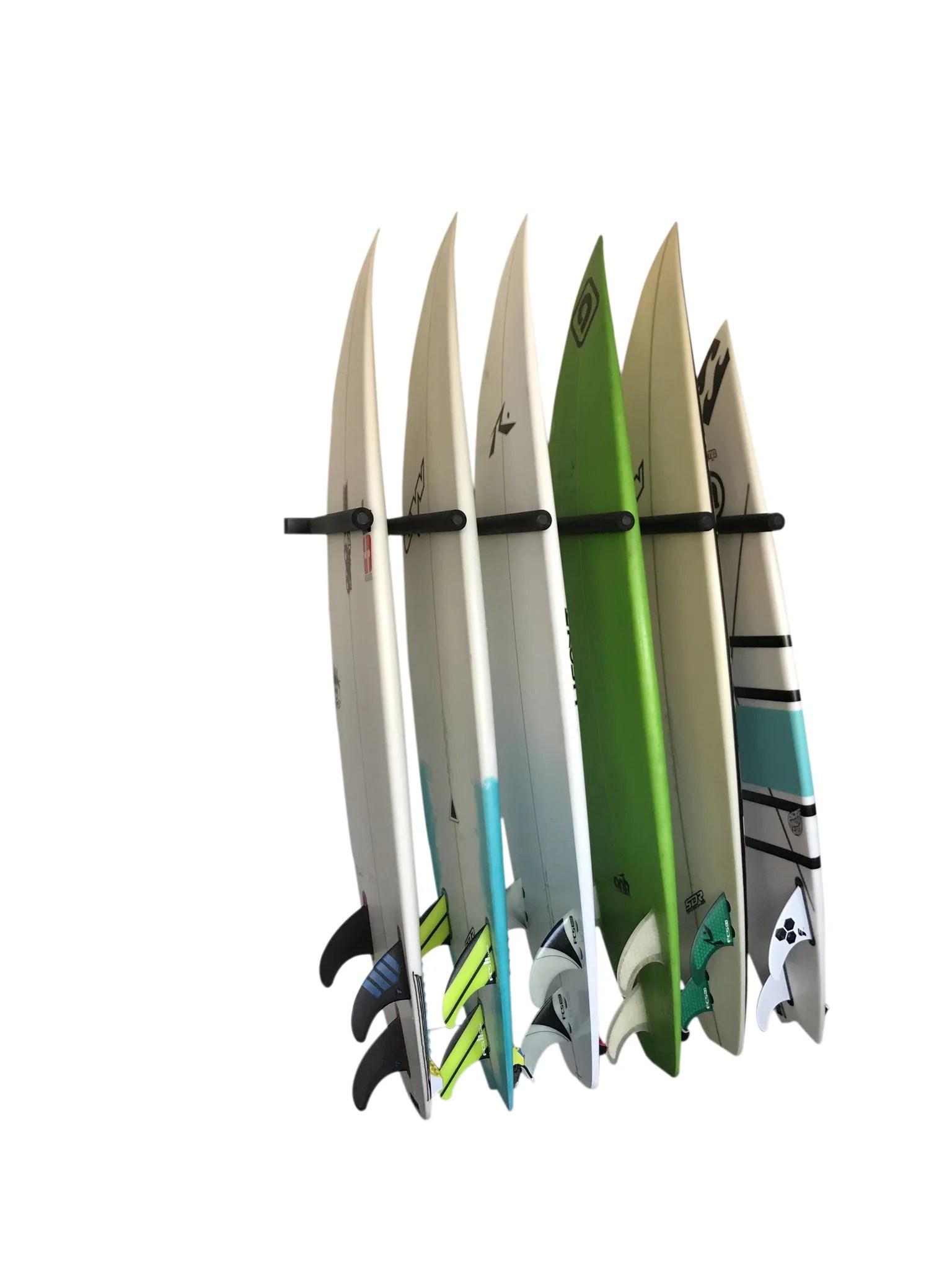 wall mounted vertical surfboard rack 6