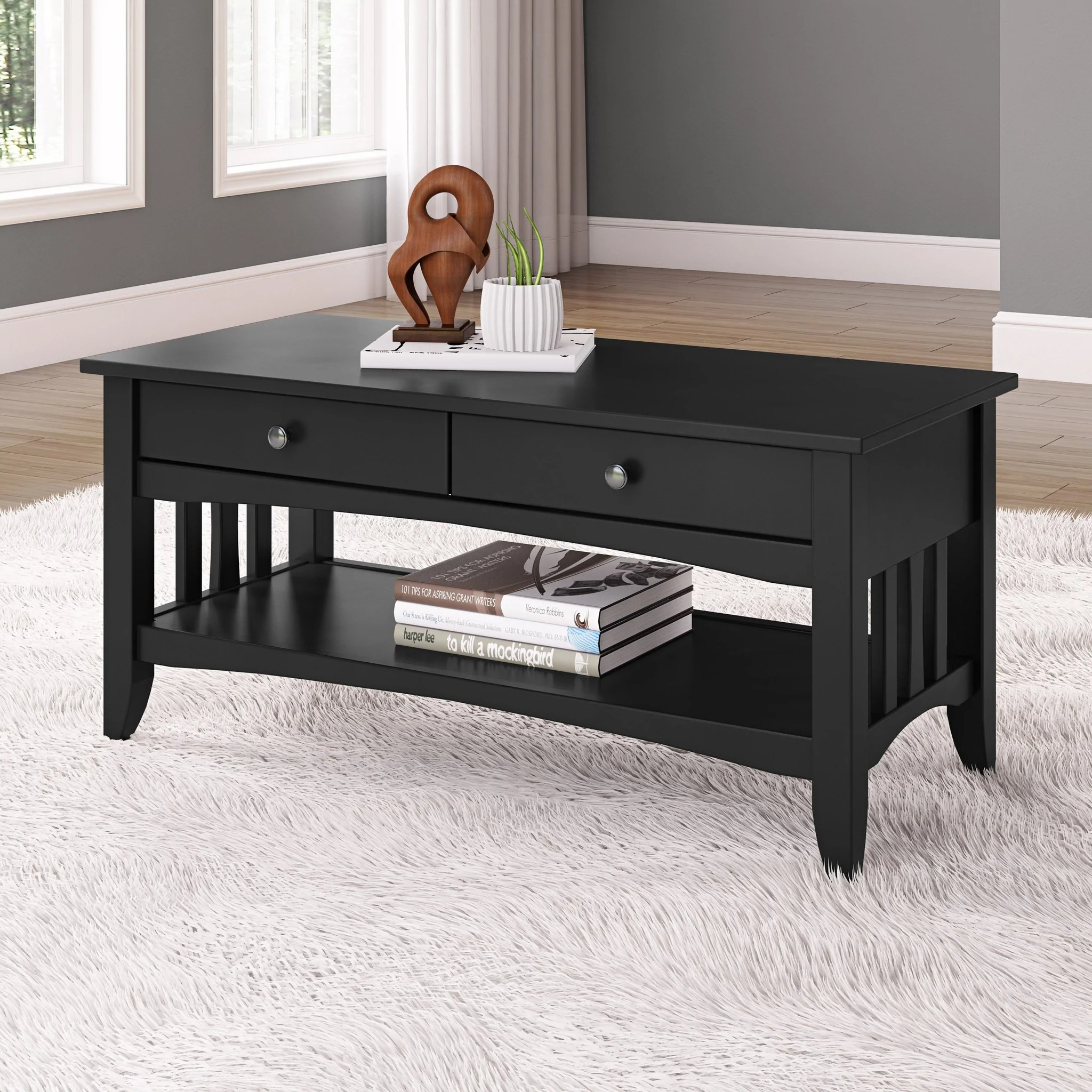 coffee table with drawers clearance final sale