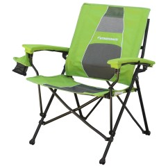 Most Comfortable Folding Chair Fold Up Chairs For Sporting Events Strongback Elite Lime Green And Grey Mesh