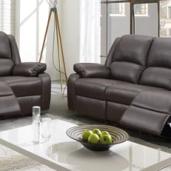 Leona 3 Seater Recliner Sofa California Reclining Collections Affordable Home Store Morano 2 Manual Set