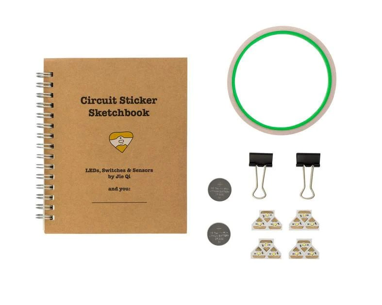 Circuit Stickers Starter Kit Maker Shed