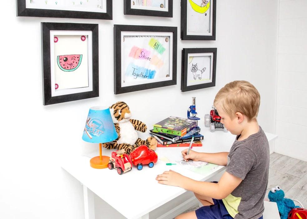 kids art display frames brilliant frames co