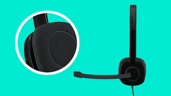 Logitech Headset H151 Stereo with Noise-Cancelling Mic