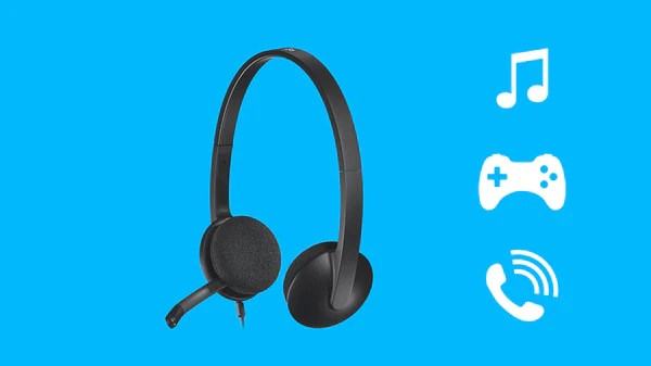 Headset H340 USB Headset with Noise-Cancelling Mic