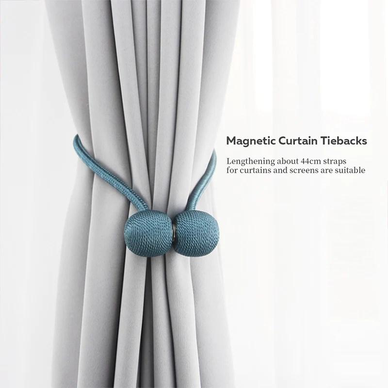 magnetic curtain tiebacks 1 pcs snowcity