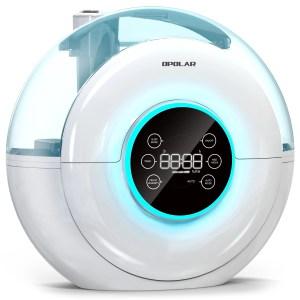OPOLAR 4L/1.05 Gallon Quiet Ultrasonic Cool Mist Humidifier baby sleep gadget