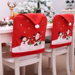 Decorative Chair Covers For Sale Boy Potty Chairs Santa Hat Christmas Printing Decor