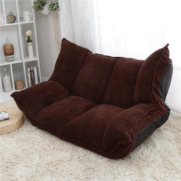 living room furniture sofa chair leather chairs adjustable fabric folding chaise lounge floor couch daybed sleeper leisure