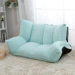 Living Room Furniture Sofa Chair Decorative Chairs For Adjustable Fabric Folding Chaise Lounge Floor Couch Daybed Sleeper Leisure