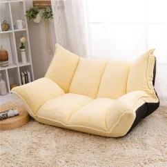 Living Room Furniture Sofa Chair Accent Chairs For Under 100 Adjustable Fabric Folding Chaise Lounge Floor Couch Daybed Sleeper Leisure