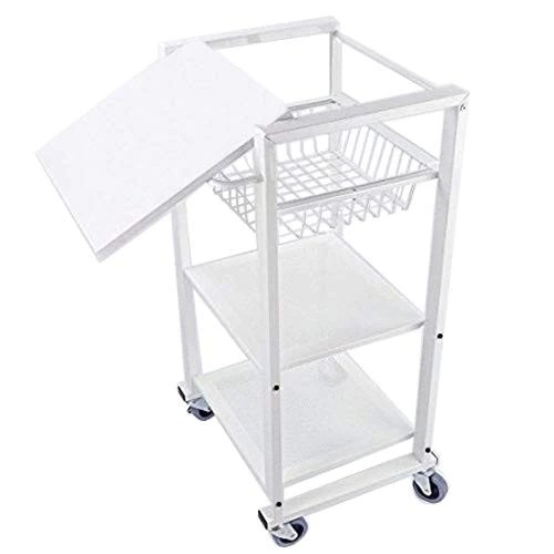 kitchen rolling cart aid colors mutipurpose metal trolly baking functional storage with moveable serving rack dining
