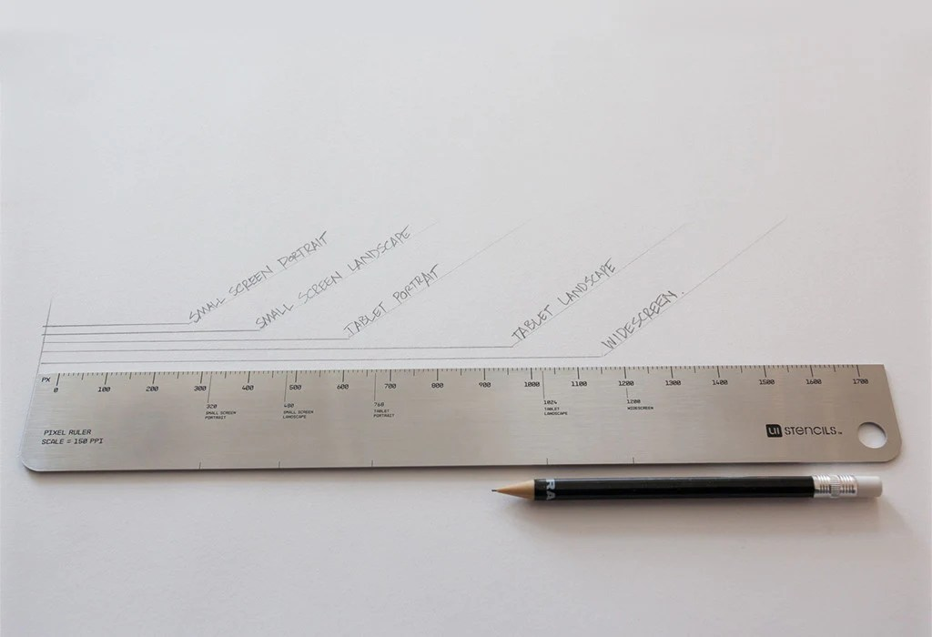2 Ruler 1 Screen Inch