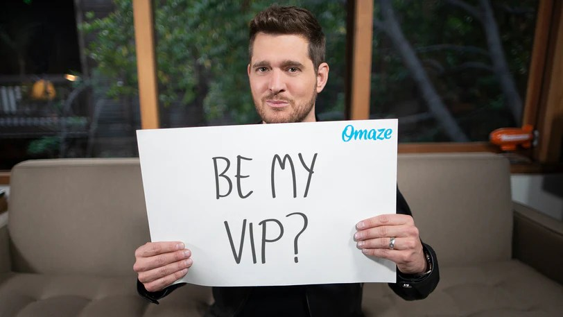 join michael bublé on