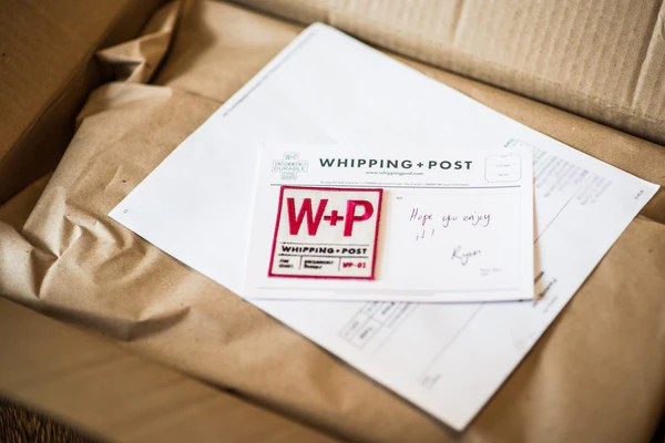 Whipping Post unboxing