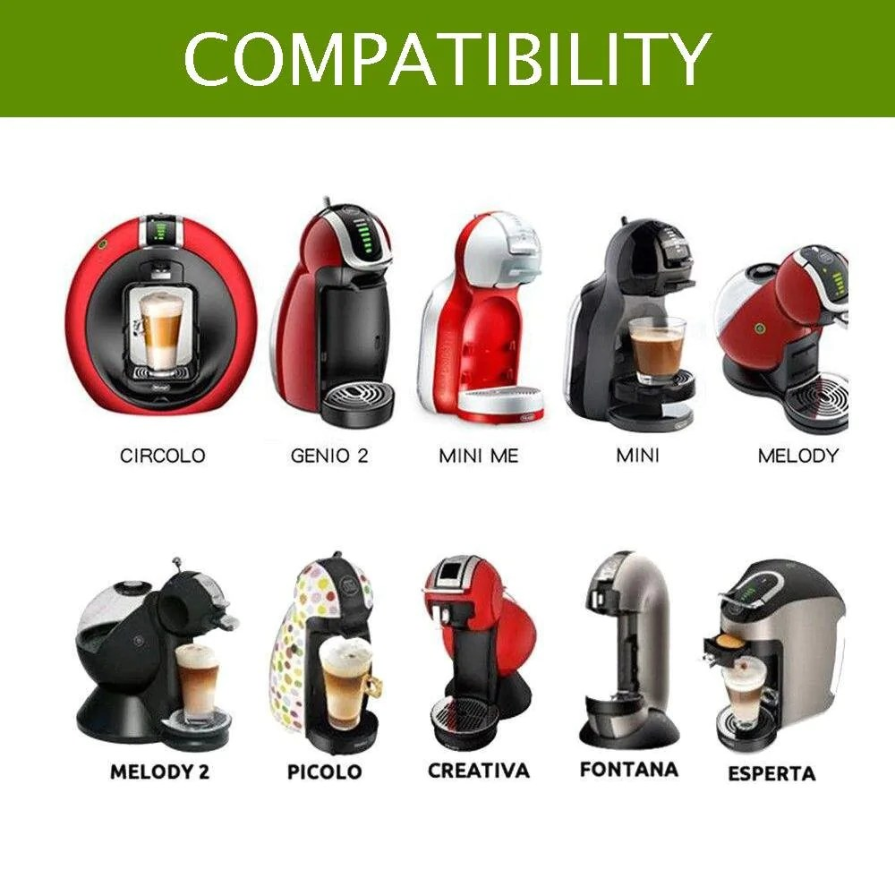 Evergreen Reusable Capsule For Dolce Gusto Evergreen Capsules