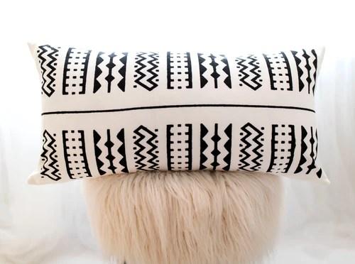 lumbar pillow covers braided crown
