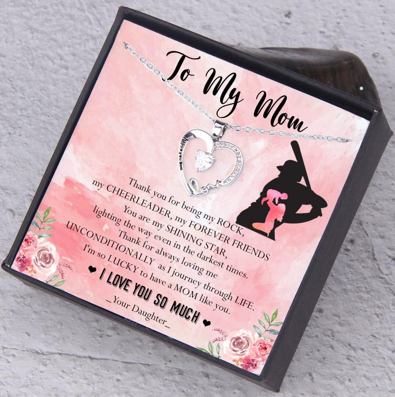 I Love You Mom Necklace To My Mom From Daughter You Are My Shini Petlovegift