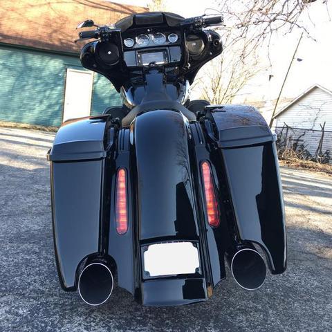 Wiring Diagram 4 5 Quot Cvo Rear End Kit For Harley Davidson Touring Bikes
