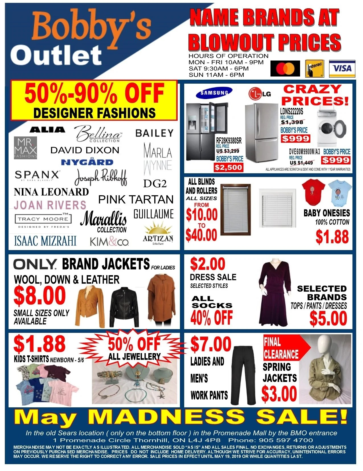Liquidation World Flyer Bobby S Liquidation Outlet Bobby S Outlet