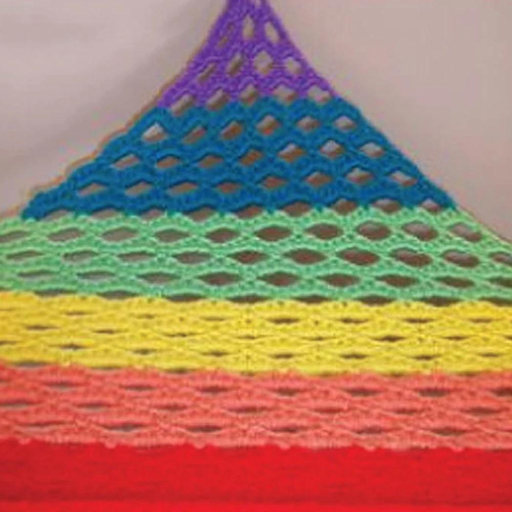 toy net hammock crochet