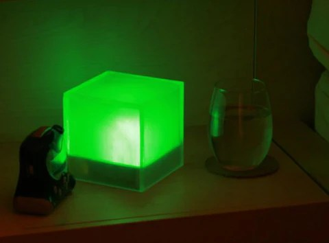Green indicates that the world is happy!