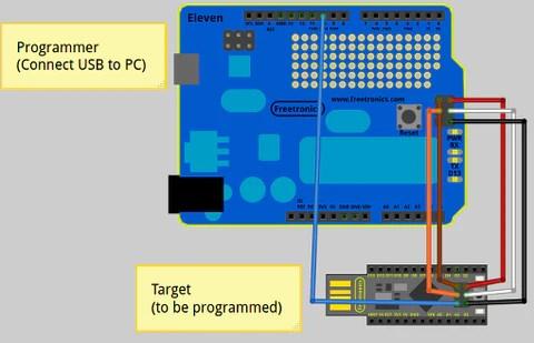 Arduino as a programmer